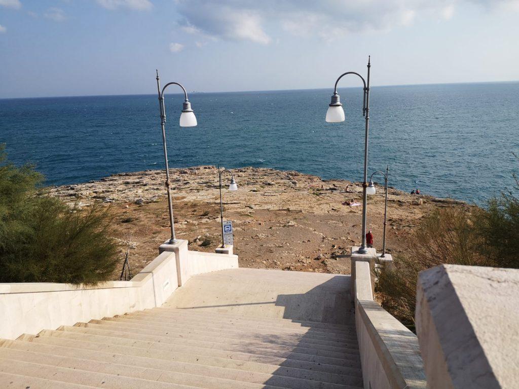 öffentlicher Strand von Polignano a Mare